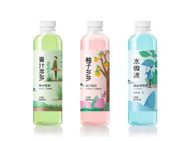 圣昕食品休闲果汁饮料西安厚启品牌包装设计