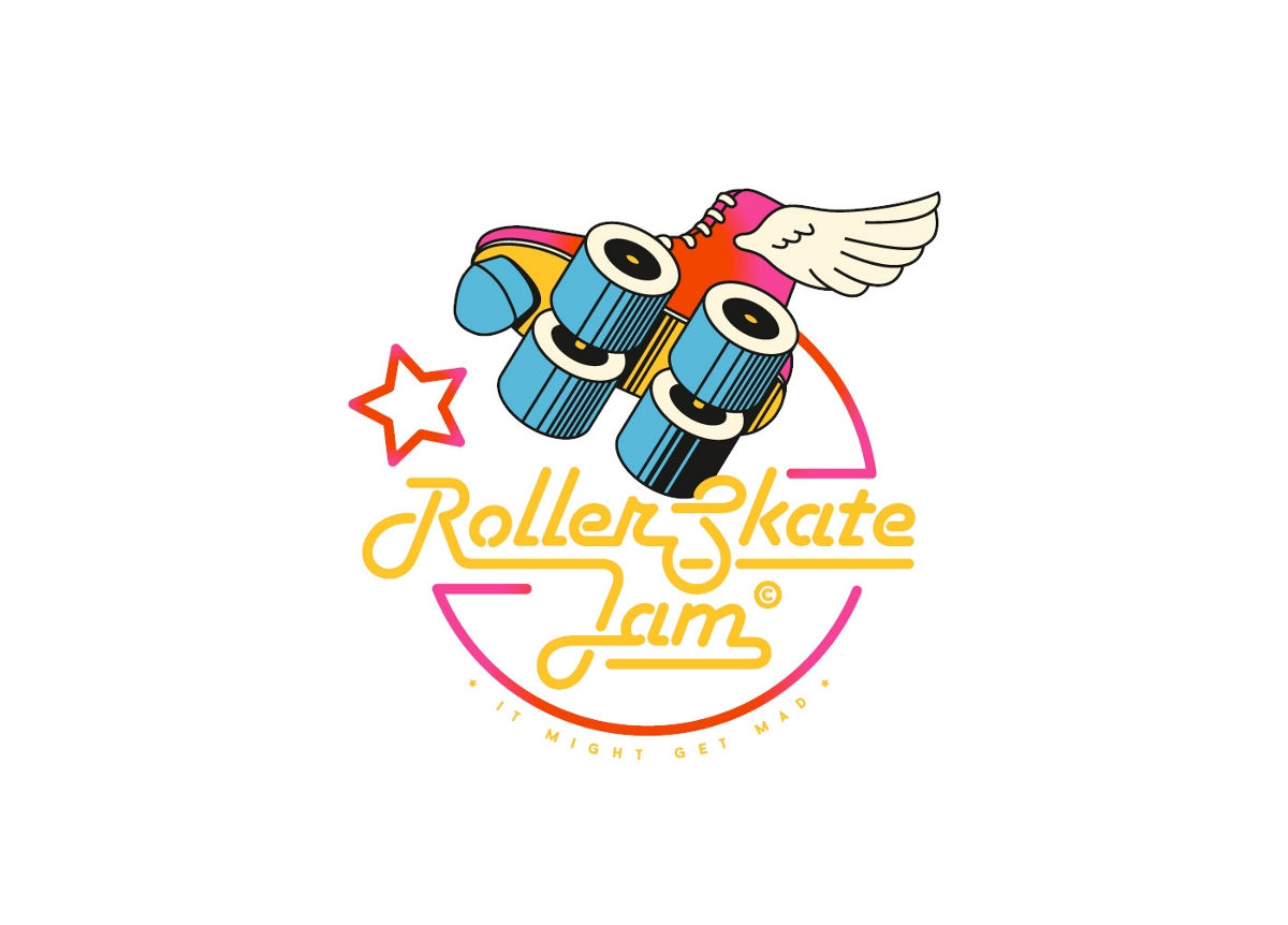 Rollerskate Jam品牌视觉设计