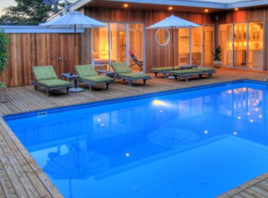 浪漫情怀 | 庭院地中海泳池