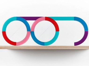 X-Y SPECS塑料图形眼镜