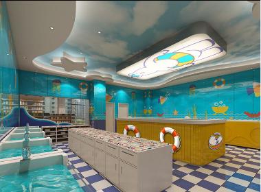 小熊时光儿童游泳馆-成都儿童游泳馆设计 成都儿童馆装修 成都儿童馆装修公司 成都儿童馆设计公司