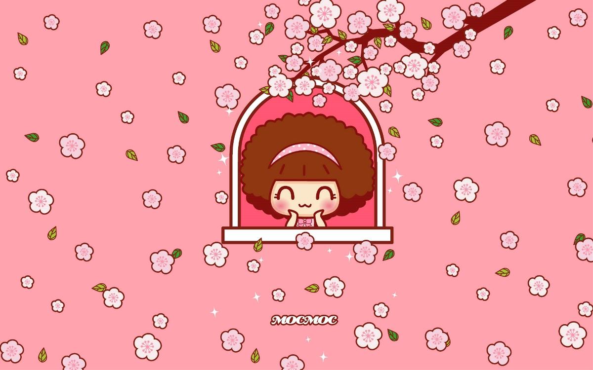 摩丝摩丝粉红春体