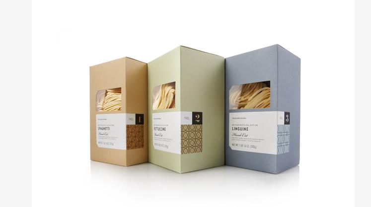 极简的食品包装设计风
