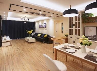 原木色现代简约风格,让你的家温暖起来