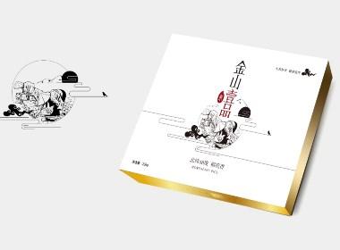 锐镁品牌--大米中档礼盒包装设计