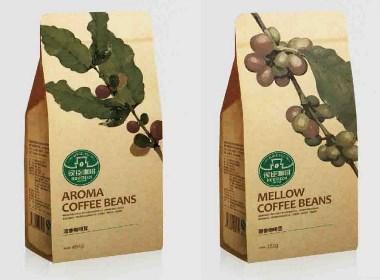 侯臣咖啡 食品快消 品牌包装设计