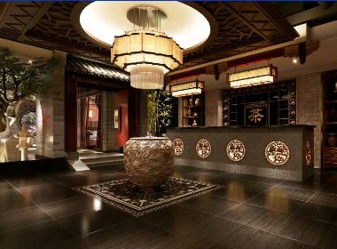 水月轩茶楼-成都茶楼设计|成都茶楼装修|成都茶艺馆设计公司|成都专业主题茶楼设计公司