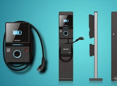 2018年新款系列站立式充电桩设计