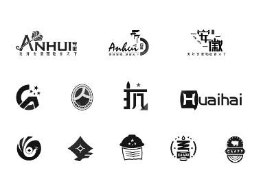 花黔夜-创意logo