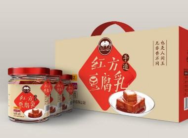 【汇包装】红方豆腐乳包装设计两款