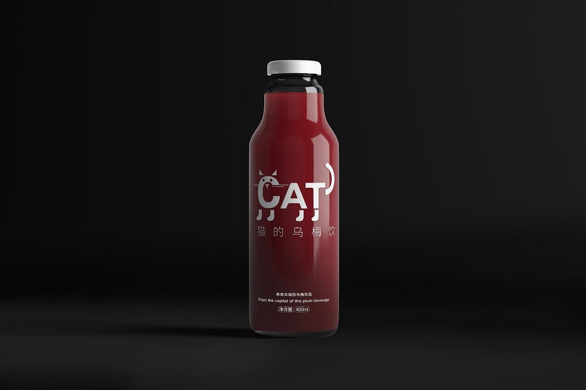 西安火鍋餐飲品牌設計-胡同貓銅火鍋產品包裝物料設計飲品、菜譜、折頁設計