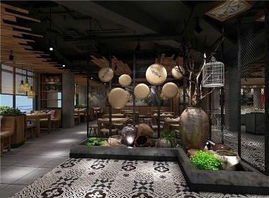 蔬意素食餐厅-成都素食餐厅装修|成都素食餐厅设计|成都专业素食餐厅设计公司