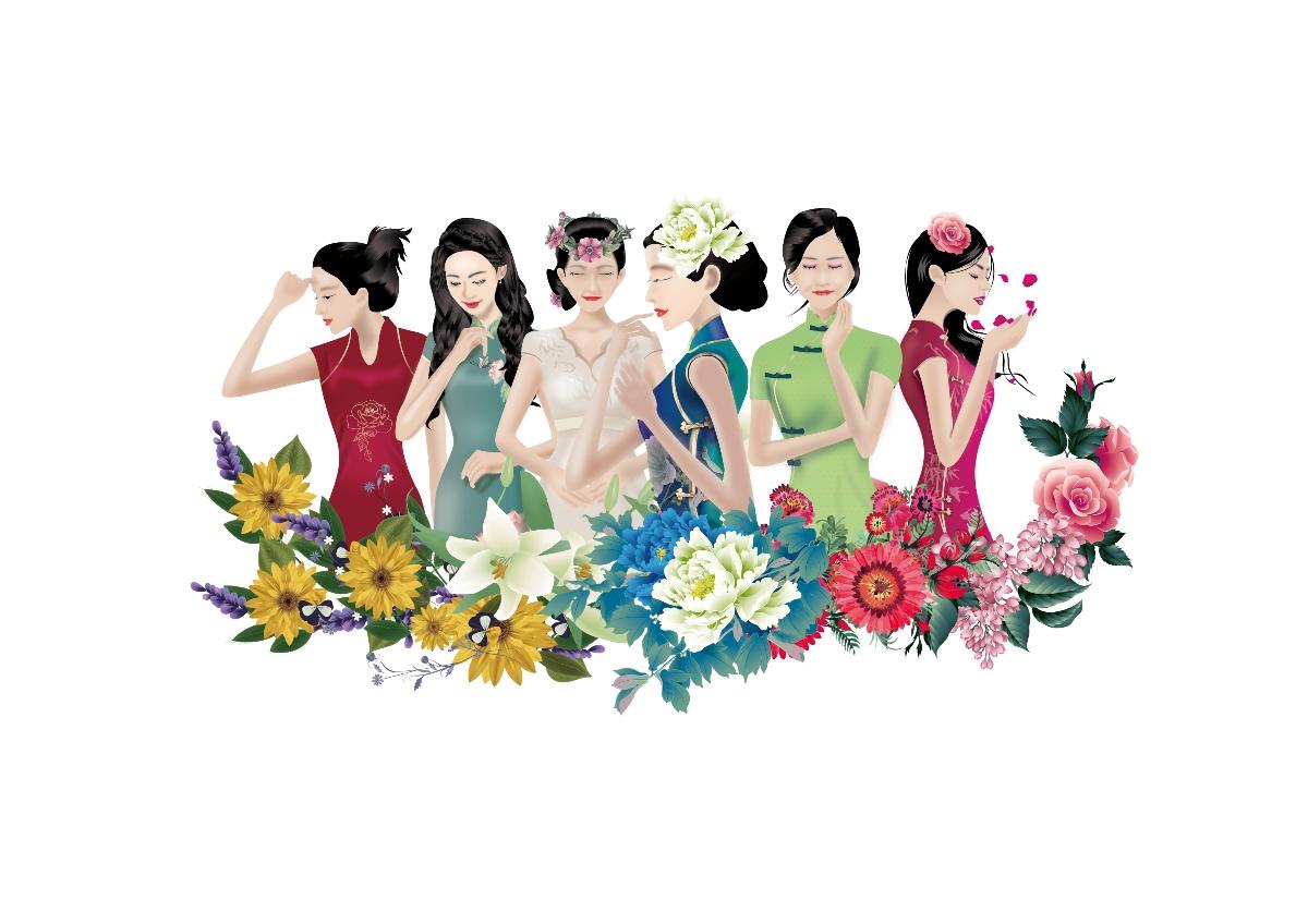 花草茶包装设计/女性产品包装