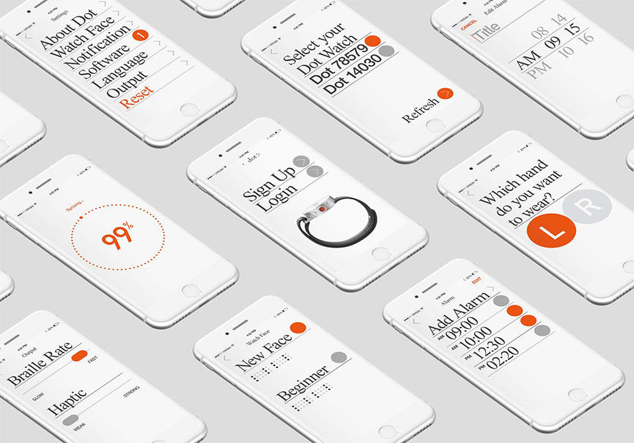 Dot Watch盲文智能手表