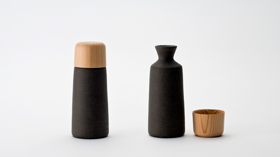 吉野清酒杯瓶