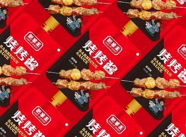 肥羊王-烧烤酱系列产品包装设计