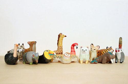 """这样的""""迷你动物园""""动漫产品设计"""