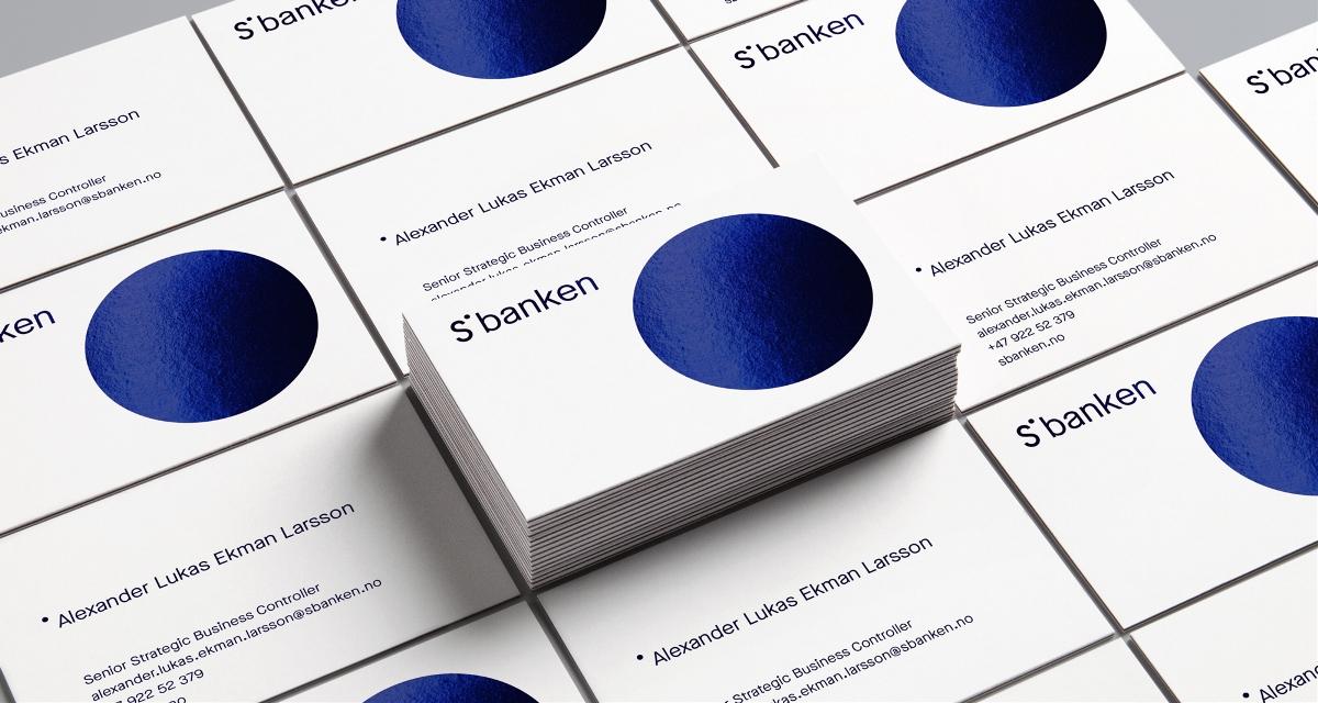 挪威互联网在线银行更新品牌形象