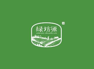 绿坊源农业品牌设计