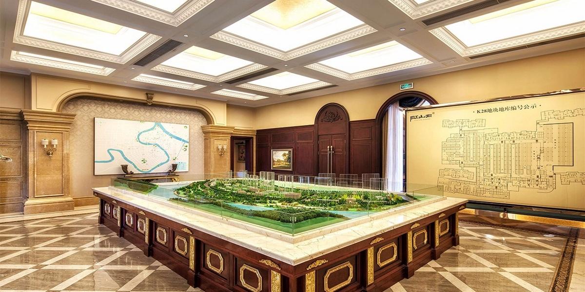 成都售楼部设计/成都售楼部设计公司/成都售楼部装修设计