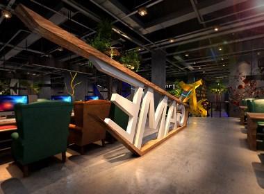 兰州798网咖设计-成都网咖设计|成都网咖装修|成都专业网咖设计|成都网吧装修公司