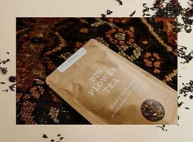 Big Flower Tea茶包裝設計 | 摩尼視覺分享