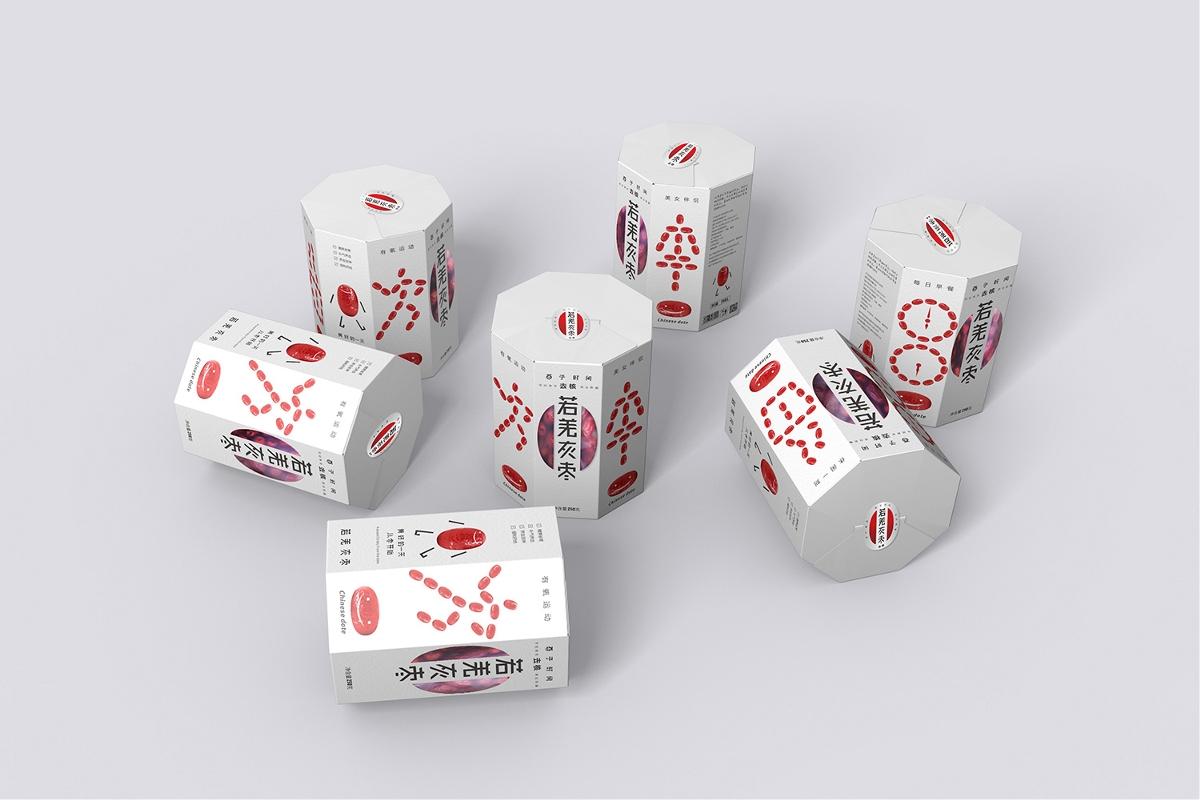 西安紅棗包裝設計-河北唐山農副食品酉子時間若羌紅棗包裝設計