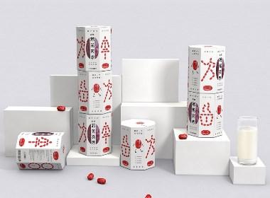 河北唐山农副食品酉子时间若羌红枣包装设计