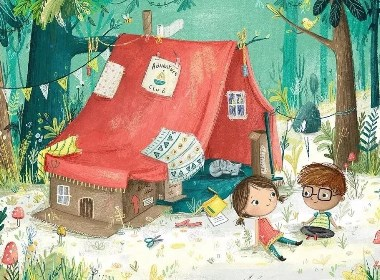 插画家的世界里,藏着一个童话故事
