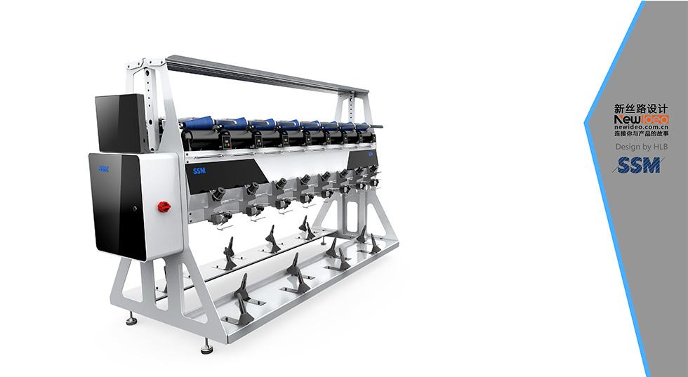 机械纺织设备外观设计