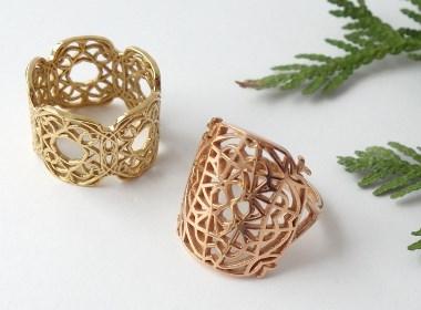 戒指设计与3D打印定制