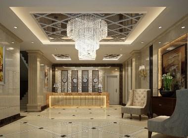 宾馆设计案例效果图