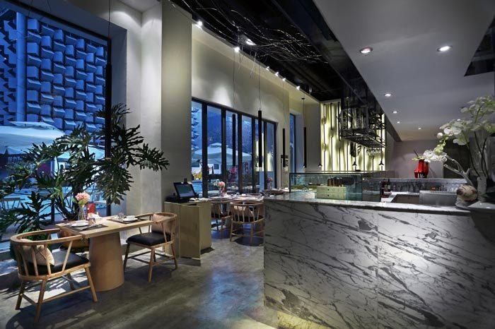内江天天素食餐厅设计-成都素食餐厅设计|成都专业素食餐厅装修|成都特色素食餐厅设计公司