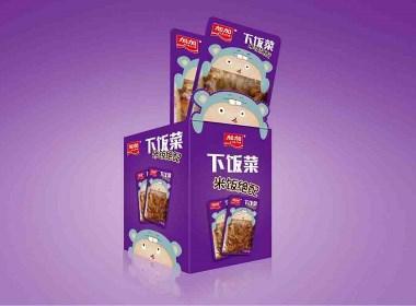 加加集团-下饭菜系列 食品快消 品牌包装设计