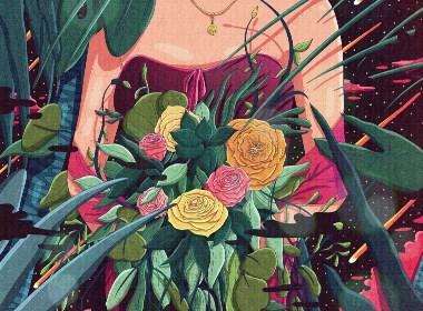 插图-捧花