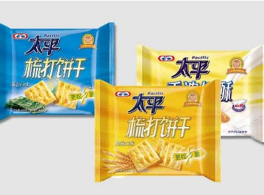 卡夫太平饼干 食品快消 品牌产品包装