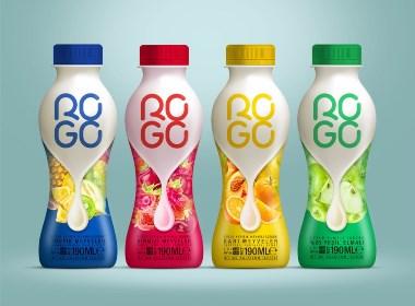 ROGO 牛奶包裝設計