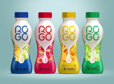 ROGO 牛奶包装设计