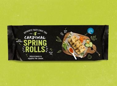 Cardinal Meals & Noodles包装设计 | 摩尼视觉分享