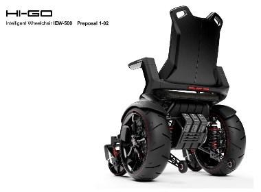 电动轮椅概念设计