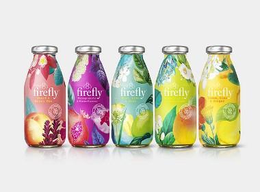 Firefly果汁包裝設計