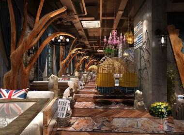 云南曲靖香樟树下西餐厅-曲靖西餐厅设计 曲靖西餐厅装修 成都专业西餐厅设计 成都特色西餐厅装修公司