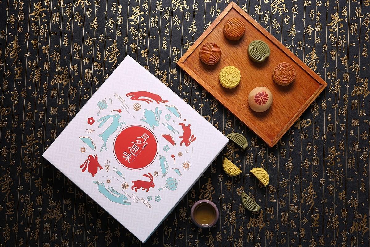中秋月饼礼盒设计
