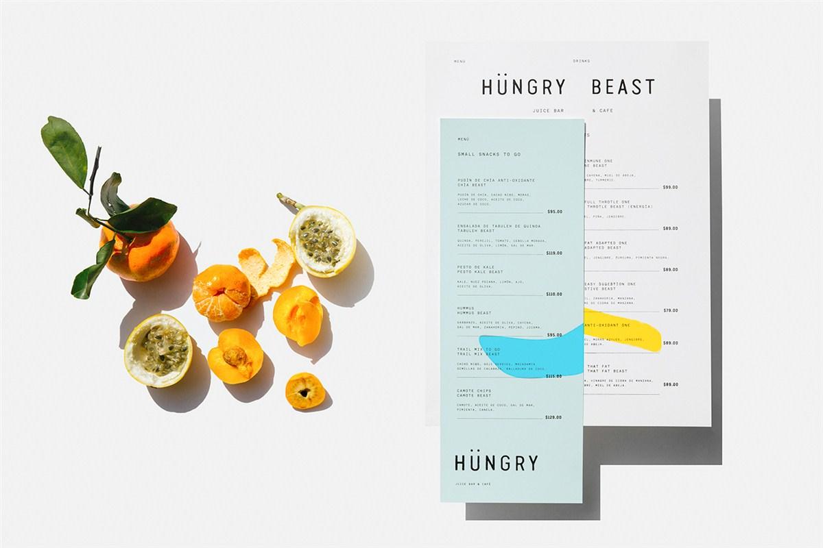 Hngry Beast品牌形象设计