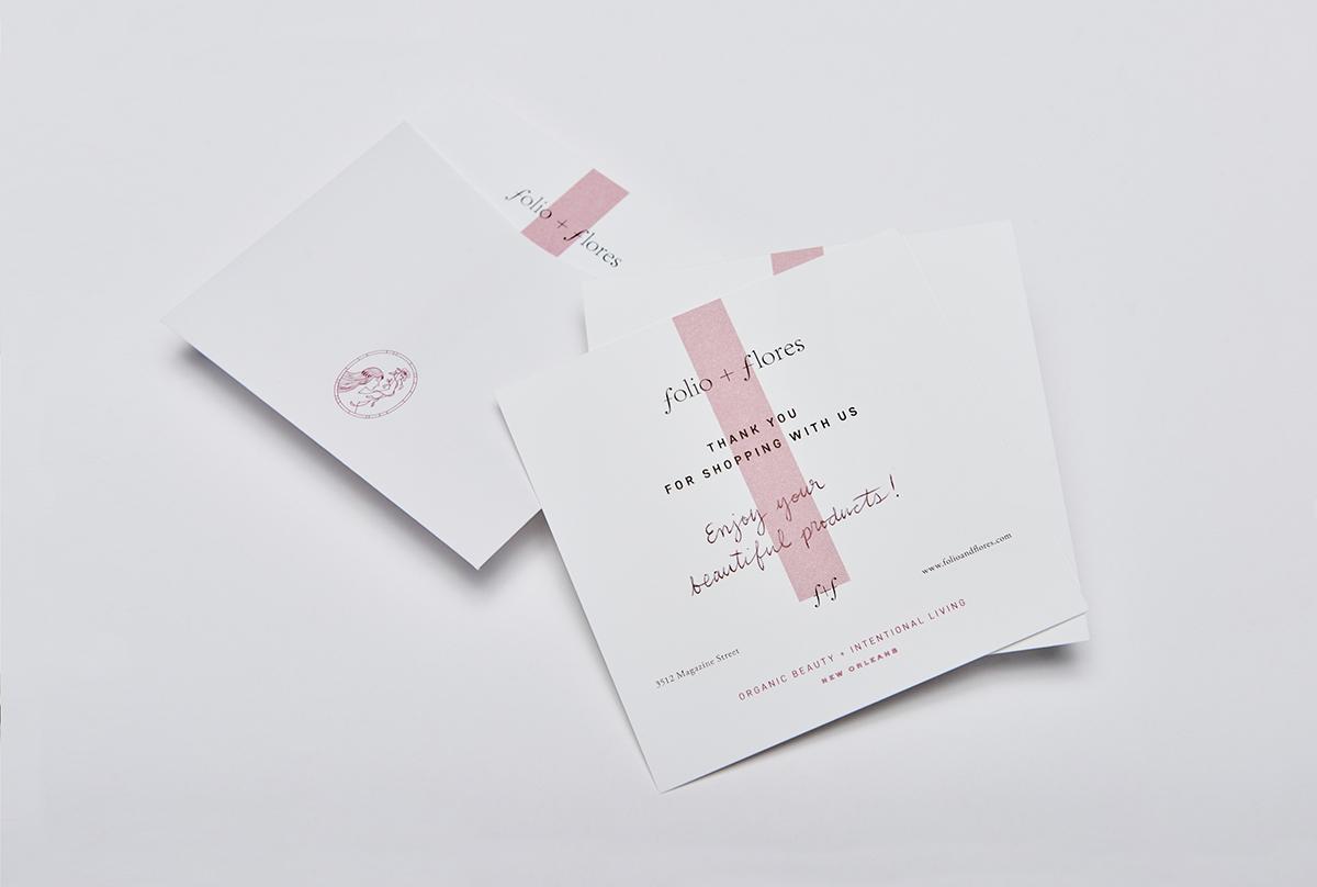 Folio + Flores | 品牌VI设计分享