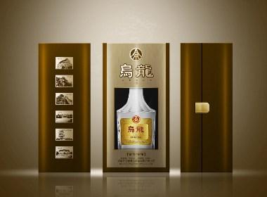 乌龙酒包装设计