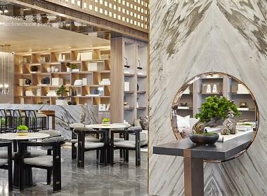 空与间建筑摄影:摩登东方,造境生活 | 万科魅力之城销售中心