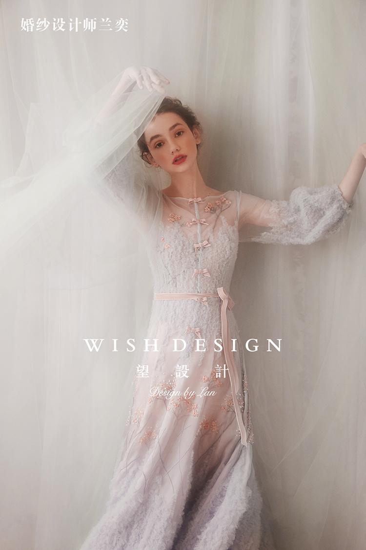 绛珠雪婚纱设计