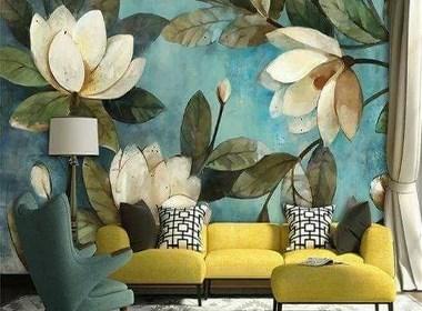 墙体彩绘这么画,美到邻居都嫉妒