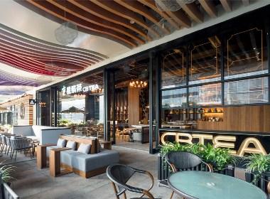 餐饮设计·华空间新饮品店空间设计
